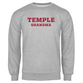 Grey Fleece Crew-Grandma