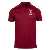 Under Armour Sideline Cardinal Pinnacle Polo-