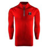 Under Armour Cardinal Tech 1/4 Zip Performance Shirt-Box T