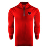 Under Armour Cardinal Tech 1/4 Zip Performance Shirt-Owl Head