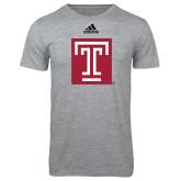 Adidas Sport Grey Logo T Shirt-Box T