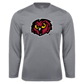 Syntrel Performance Steel Longsleeve Shirt-Owl Head