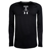 Under Armour Sideline Black Long Sleeve Tee-