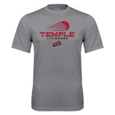 Syntrel Performance Steel Tee-Temple Lacrosse Modern