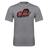Performance Grey Concrete Tee-Field Hockey