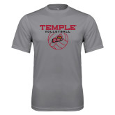 Syntrel Performance Steel Tee-Temple Volleyball Stacked