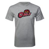 Grey T Shirt-Owls w/Owl Head