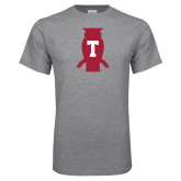Grey T Shirt-Perched Owl T