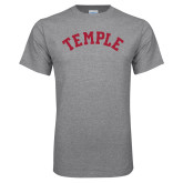 Grey T Shirt-Arched Temple