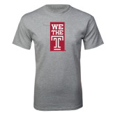 Grey T Shirt-We The T Vertical