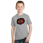 Youth Grey T-Shirt-Owl Head