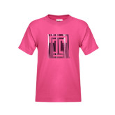 Youth Cyber Pink T Shirt-Box T Foil