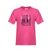 Youth Fuchsia T Shirt-Box T Foil