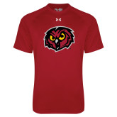 Under Armour Cardinal Tech Tee-Owl Head