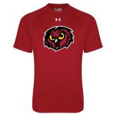 Under Armour Cardinal Tech Tee-Owl Head