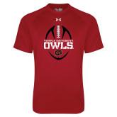 Under Armour Cardinal Tech Tee-Temple University Owls Football Vertical