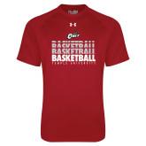 Under Armour Cardinal Tech Tee-Temple University Basketball Repeating