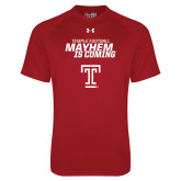 Under Armour Cardinal Tech Tee-Mayhem Is Coming
