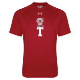 Under Armour Cardinal Tech Tee-Vintage Owl Atop T