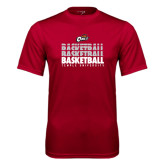 Performance Cardinal Tee-Temple University Basketball Repeating