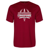 Performance Cardinal Tee-Bad Boy Mowers Gasparilla Bowl Champions - Gradient