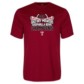 Performance Cardinal Tee-Bad Boy Mowers Gasparilla Bowl Champions - Stadium
