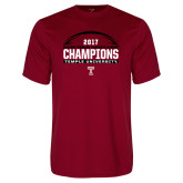 Performance Cardinal Tee-Bad Boy Mowers Gasparilla Bowl Champions - Football
