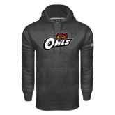 Under Armour Carbon Performance Sweats Team Hoodie-Owls w/Owl Head