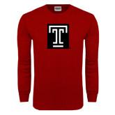 Cardinal Long Sleeve T Shirt-Box T