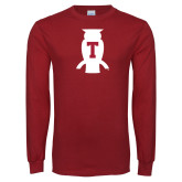 Cardinal Long Sleeve T Shirt-Perched Owl T