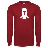 Cardinal Long Sleeve T Shirt-Perched Owl T
