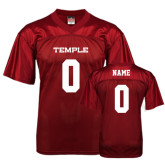 Replica Cardinal Adult Football Jersey-Personalized