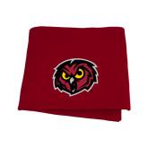 Cardinal Sweatshirt Blanket-Owl Head