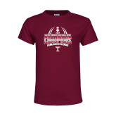 Youth Cardinal T Shirt-Bad Boy Mowers Gasparilla Bowl Champions - Gradient