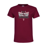 Youth Cardinal T Shirt-Bad Boy Mowers Gasparilla Bowl Champions - Stadium