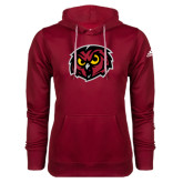 Adidas Climawarm Cardinal Team Issue Hoodie-Owl Head