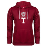 Adidas Climawarm Cardinal Team Issue Hoodie-Vintage Owl Atop T