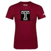 Adidas Cardinal Logo T Shirt-Box T