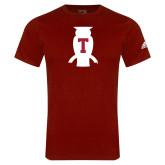 Adidas Cardinal Logo T Shirt-Perched Owl T