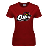 Ladies Cardinal T Shirt-Field Hockey