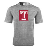 Performance Grey Heather Contender Tee-Box T