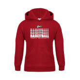 Youth Cardinal Fleece Hoodie-Temple University Basketball Repeating