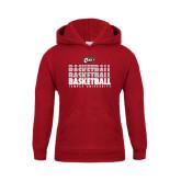 Youth Cardinal Fleece Hoodie-Temple University Basketball Repeating