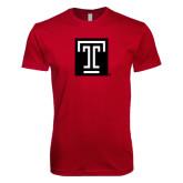 Next Level SoftStyle Cardinal T Shirt-Box T
