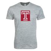Next Level SoftStyle Heather Grey T Shirt-Box T