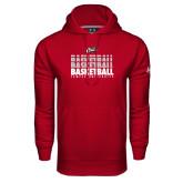 Under Armour Cardinal Performance Sweats Team Hoodie-Temple University Basketball Repeating