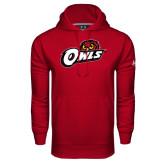 Under Armour Cardinal Performance Sweats Team Hoodie-Owls w/Owl Head