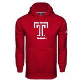 Under Armour Cardinal Performance Sweats Team Hood-Knockout T