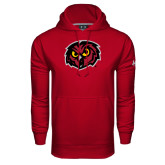Under Armour Cardinal Performance Sweats Team Hood-Owl Head