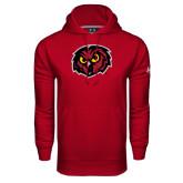Under Armour Cardinal Performance Sweats Team Hoodie-Owl Head